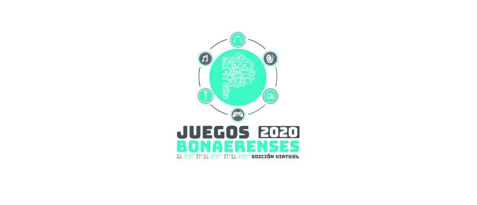 Logo Juegos Bonaerenses 2020 Edicion Virtual wide